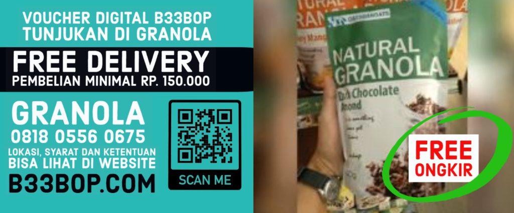voucher Granola Bali